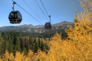 Breckenridge Gondola in the fall