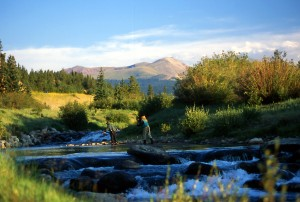 Flyfishing in Breckenridge