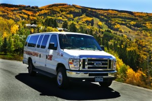 Colorado Mountain Express van