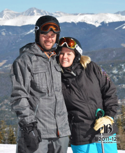 Kristen and Brad Stewart at Breckenridge