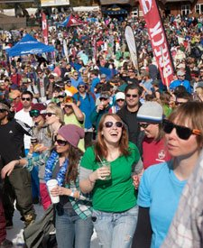 Dancing at Spring Fever in Breck