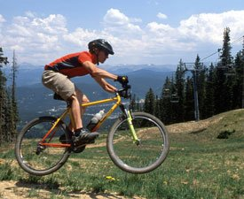 Mountain biking in Breckenridge