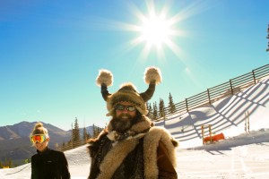 Ullr at Breck's Opening day