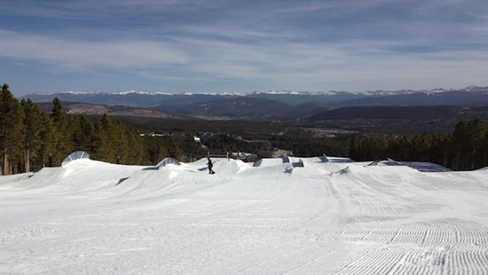 Breck Terrain Park April 2012