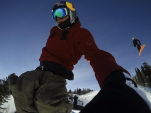 Bobby Brown at the X Games with GoPro