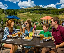 Ski Hill Grill Patio