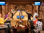 One Ski Hill Place bowling alley