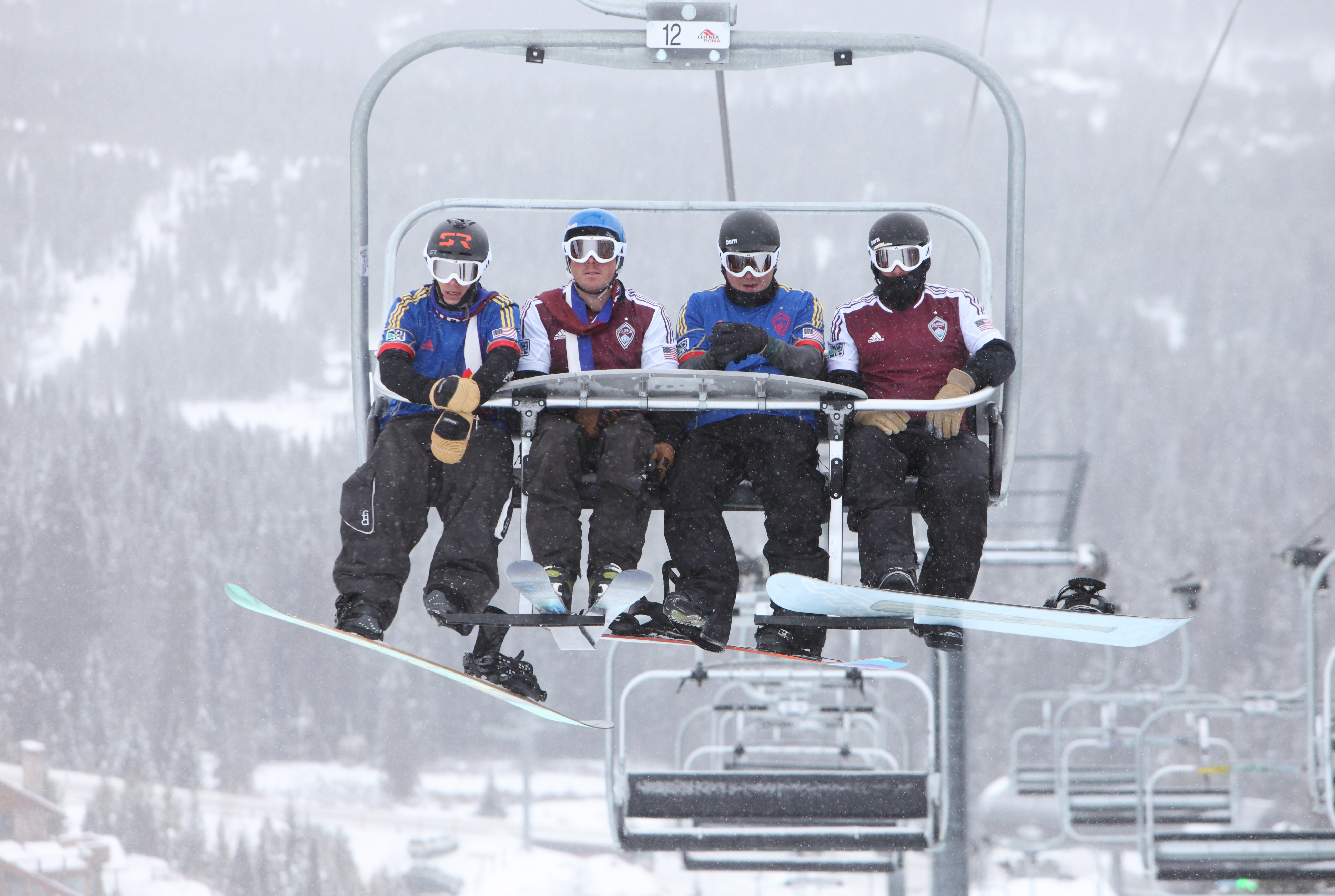 Colorado Rapids Jerseys revealed at Breck