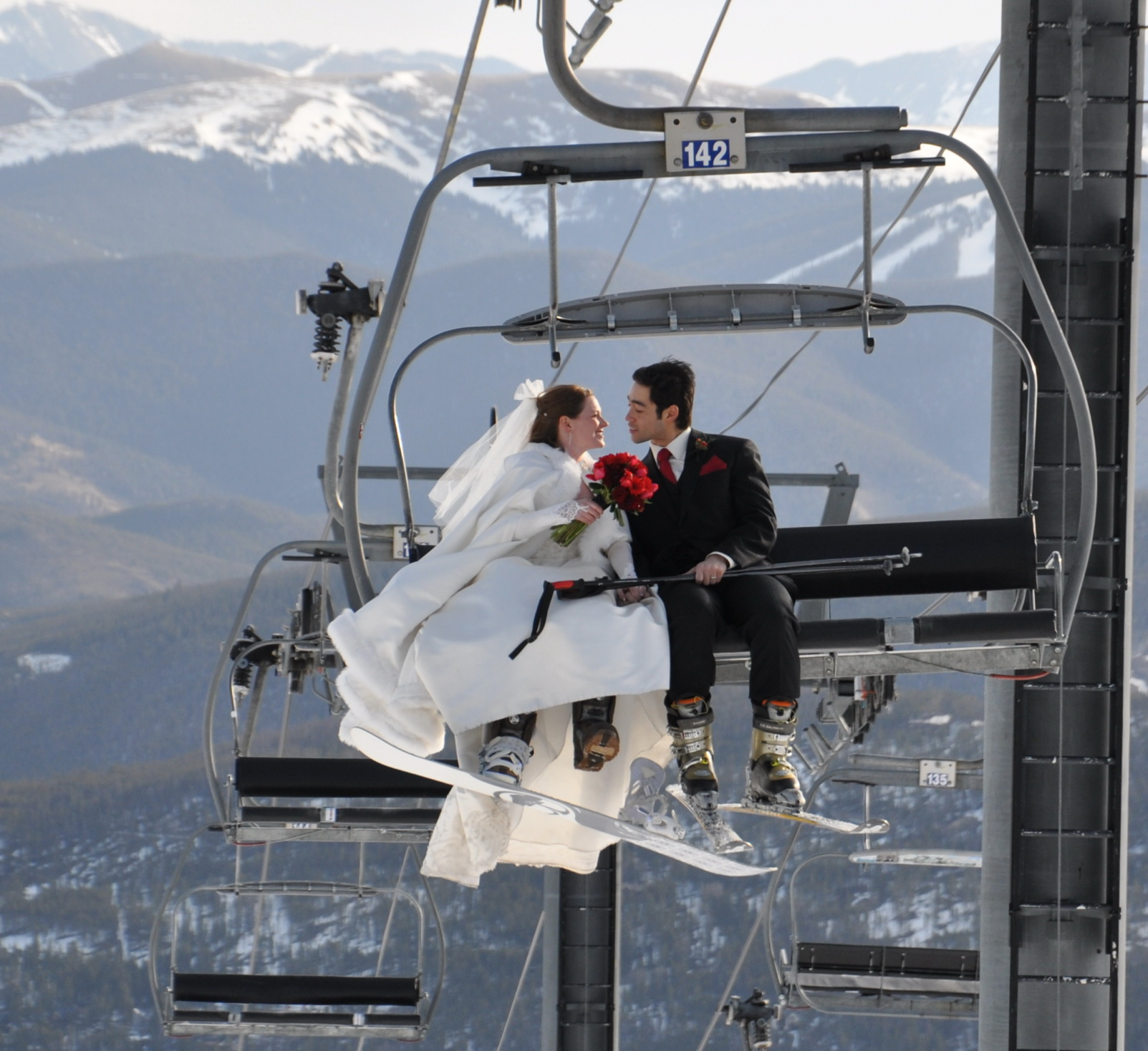 Wedding on the Slopes Breckenridge