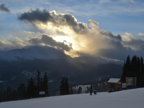 Clouds Over Baldy 2/9/13