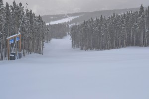 Northstar run on Peak 8 at Breck.