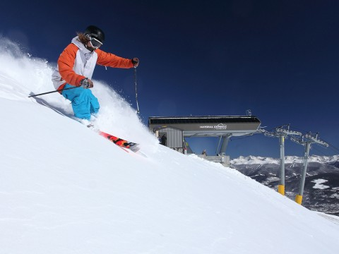 Imperial Chair open at Breck
