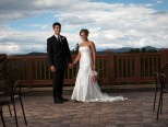 Wedding photos at Ski Hill Grill