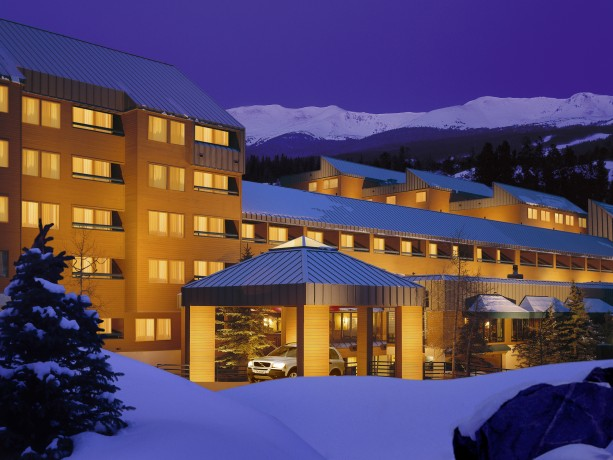 Formerly the great ide lodge the doubletree by hilton breckenridge
