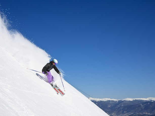 Spring Skiing in Breck