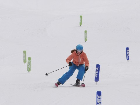 Racing at Breckenridge