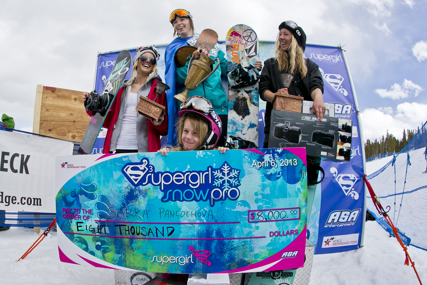 SuperGirl Snow Pro Community Cup