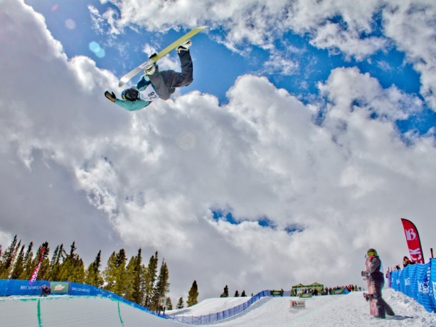 Zack Black in the superpipe