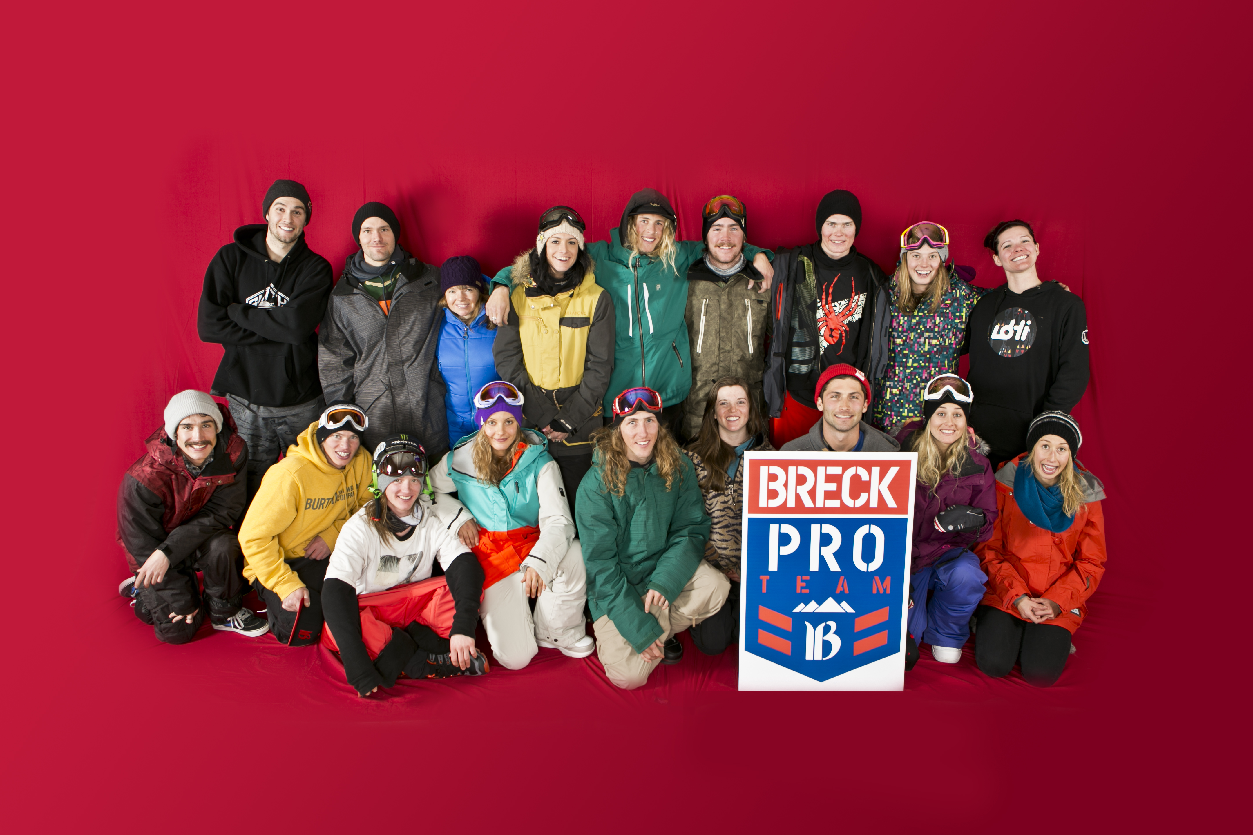 Announcing the Breck Pro Team