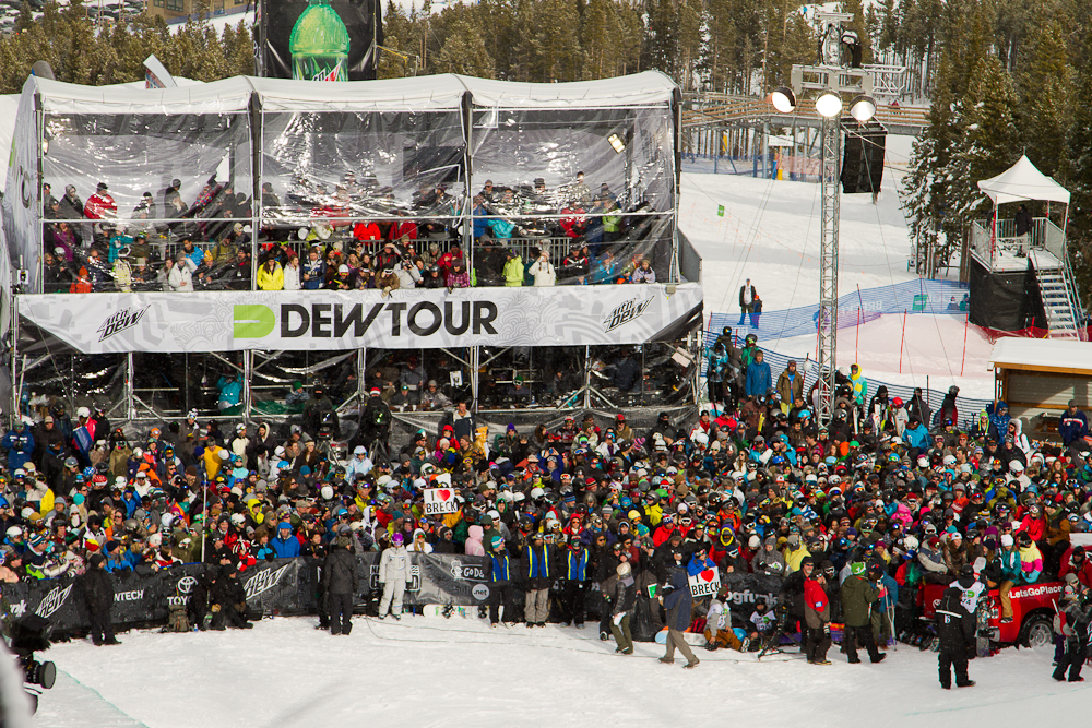 Dew Tour at Breck