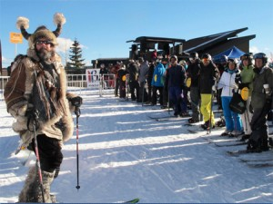 Ullr waits for Breck to open