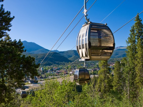 Breckenridge Gondola in the Summer