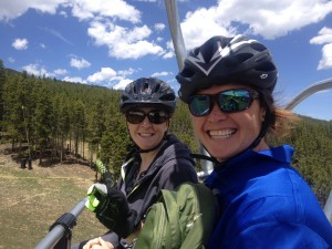 Mountain Bike Lesson chairlift