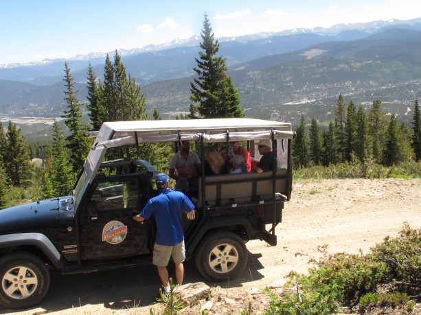 4x4 tours at Breck