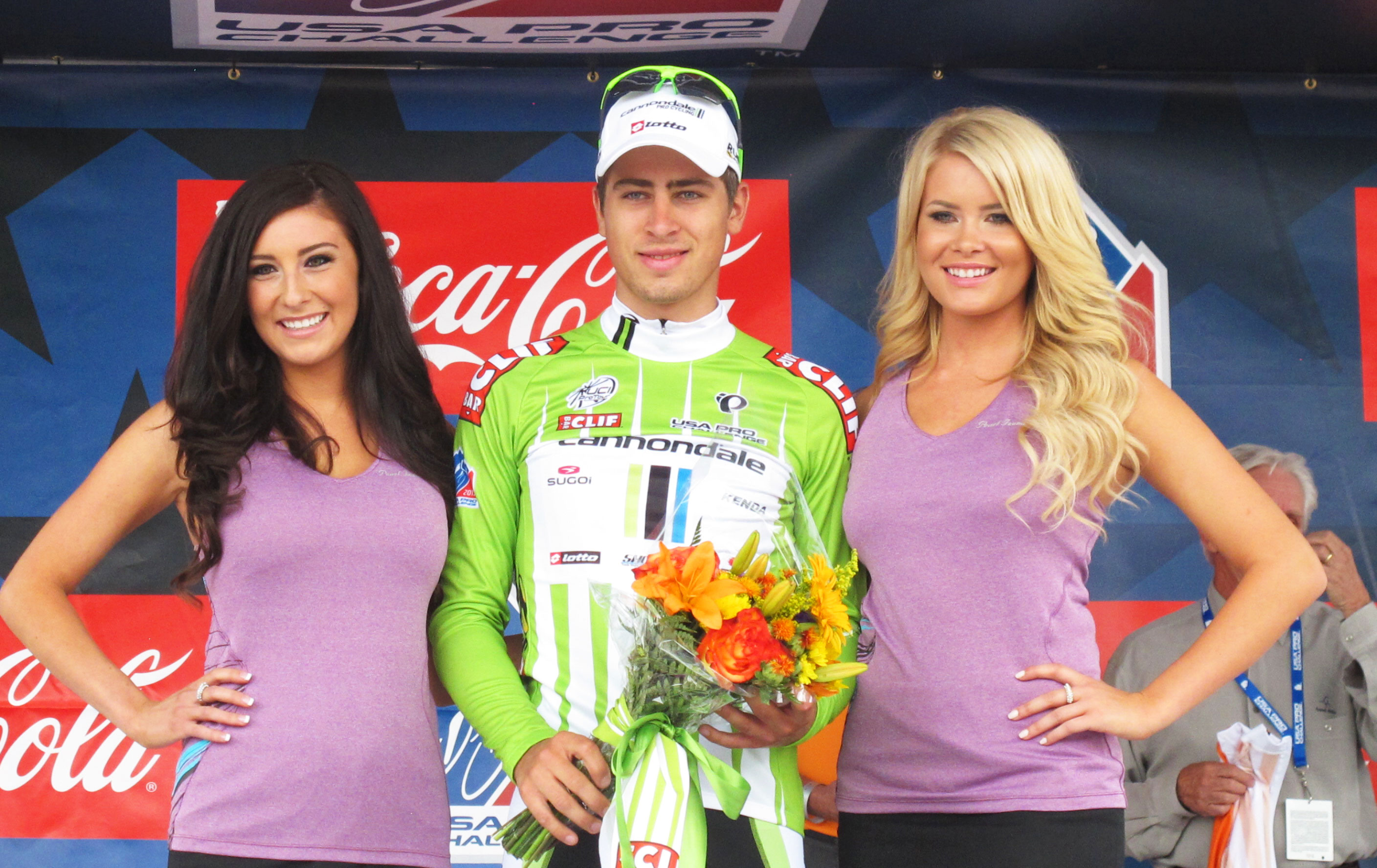 Peter Sagan earns third