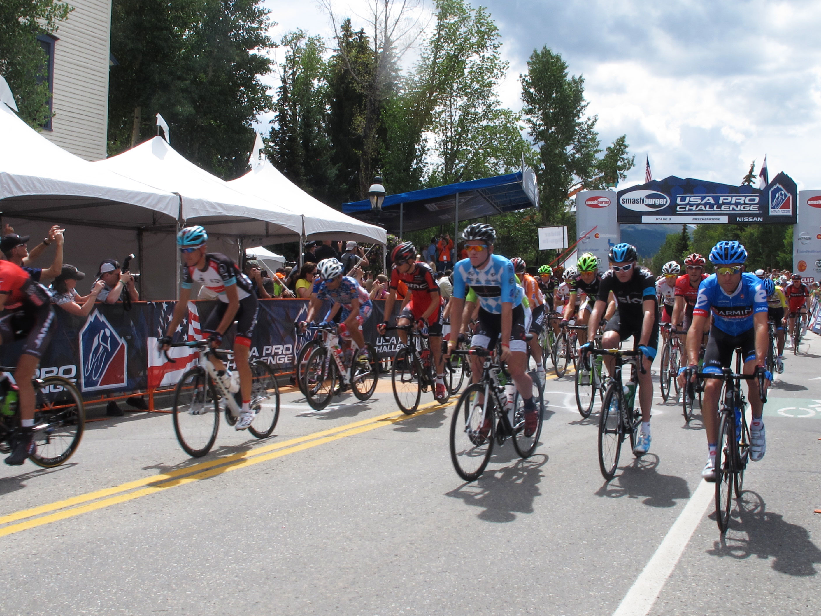 Stage 3 begins in Breckenridge