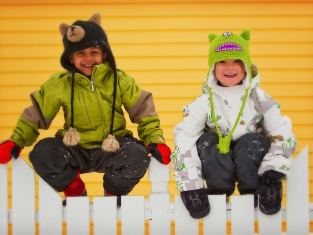 Kids in Breckenridge, CO