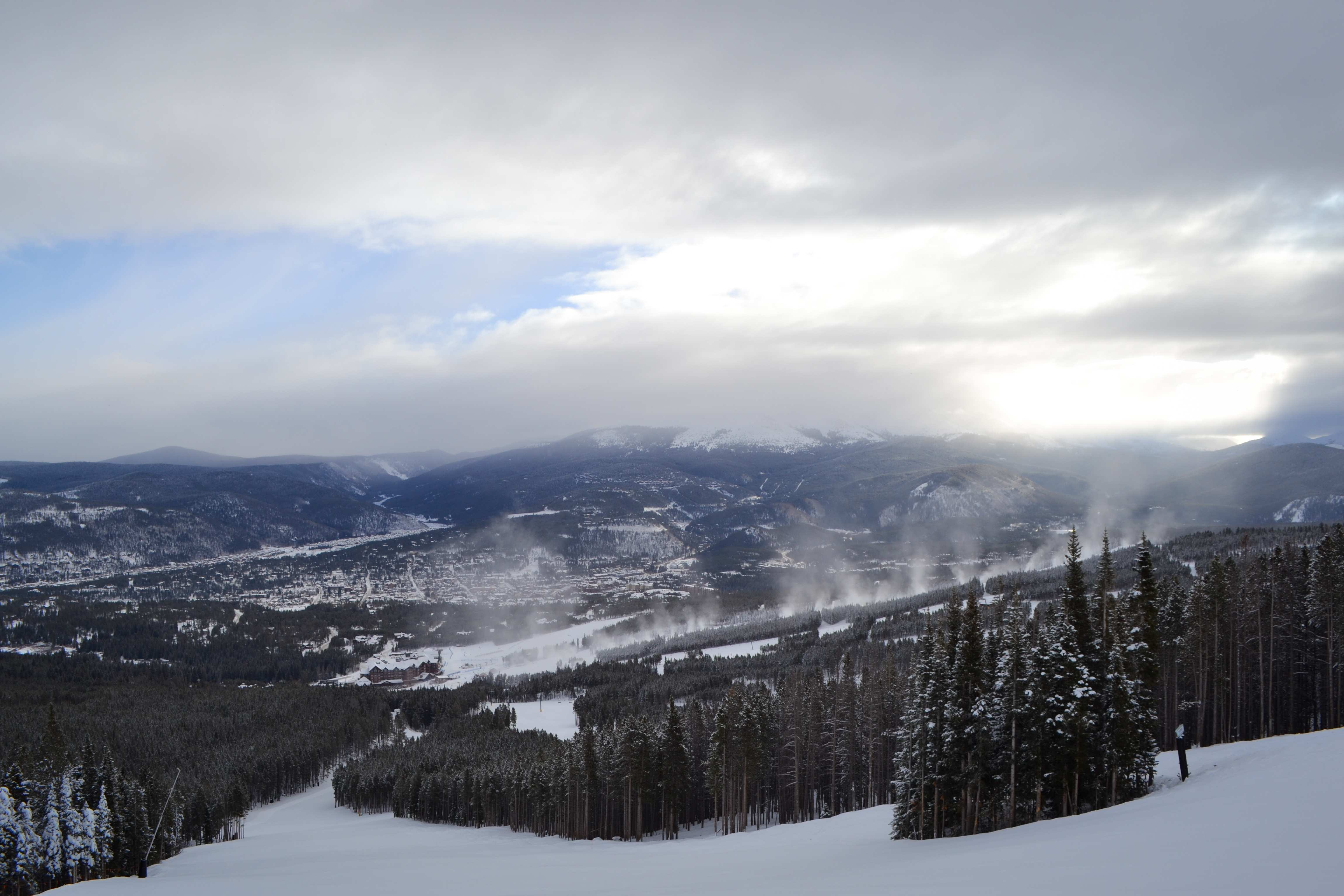 A Beautiful Morning in Breck