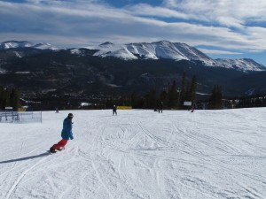 Open trails at Breck