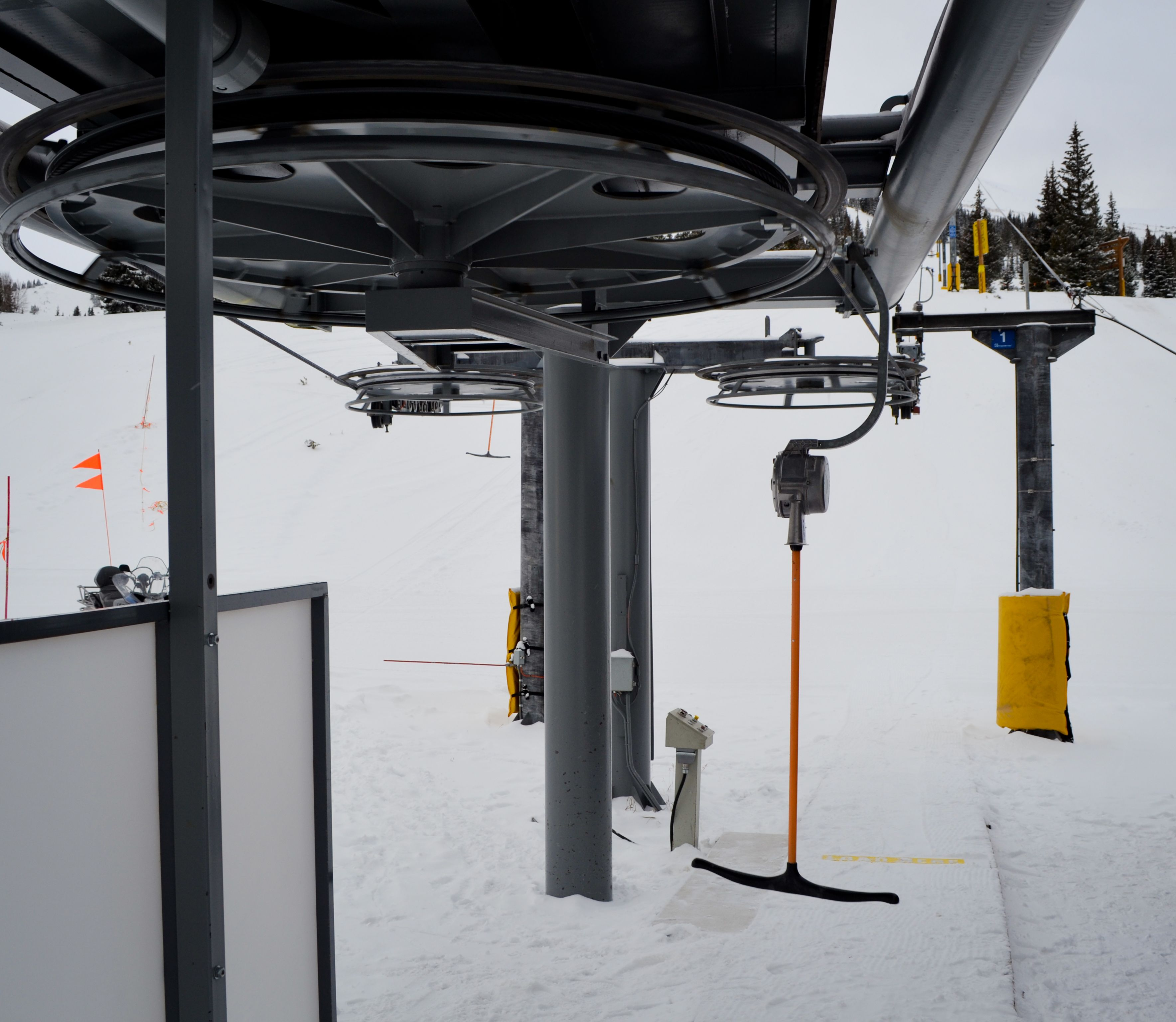 Peak 7 T-Bar is Open!