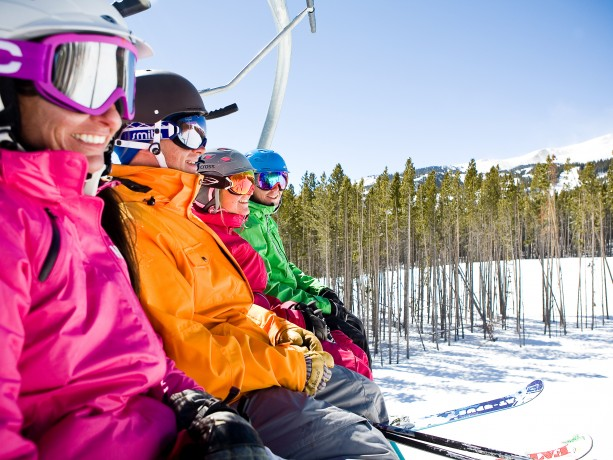 Chairlift at Breck