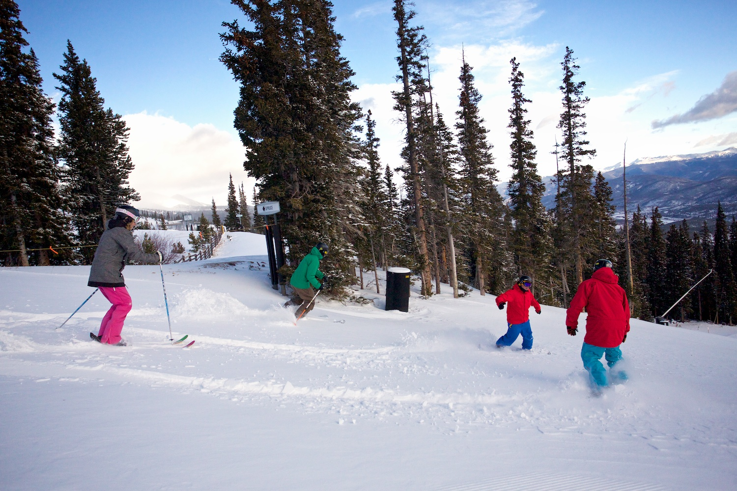 Fresh groomers at Breck!
