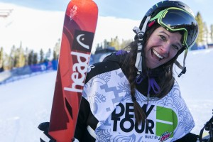 Keri Herman at the Dew Tour