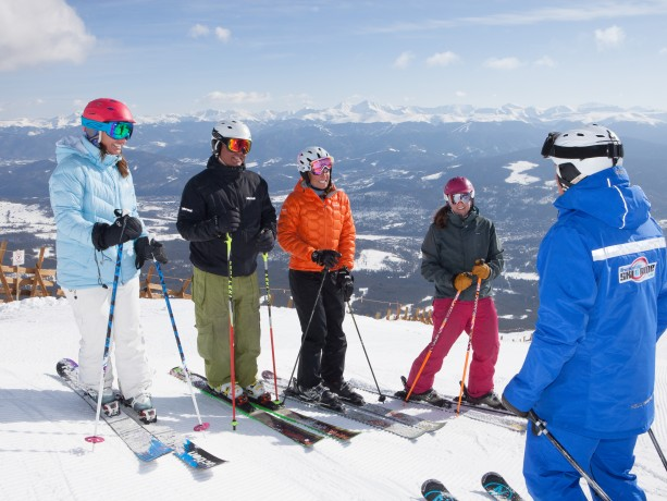 Adult Ski School at Breck