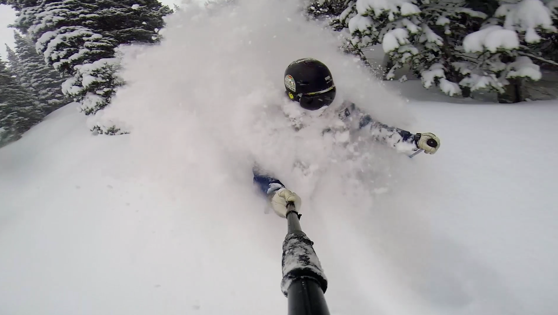 Powder Day Face Shot