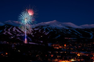 Fireworks in Breckenridge, CO.