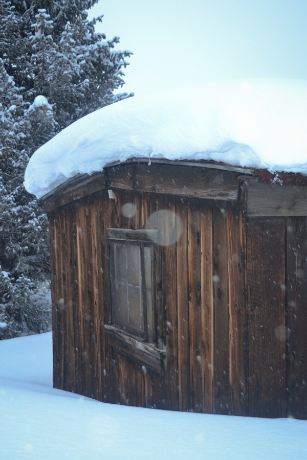 Snow cabin in Breck