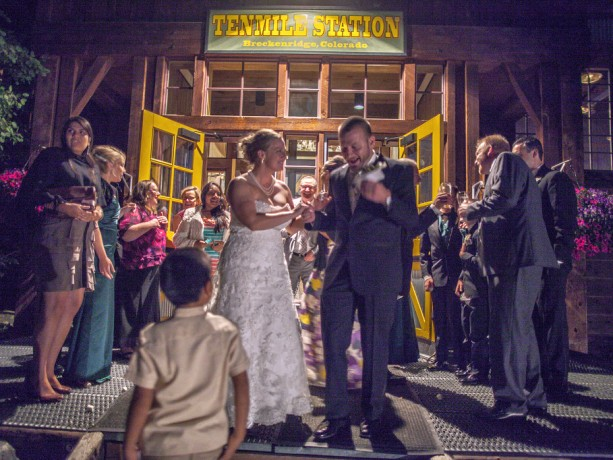 Breck Wedding at TenMile Station