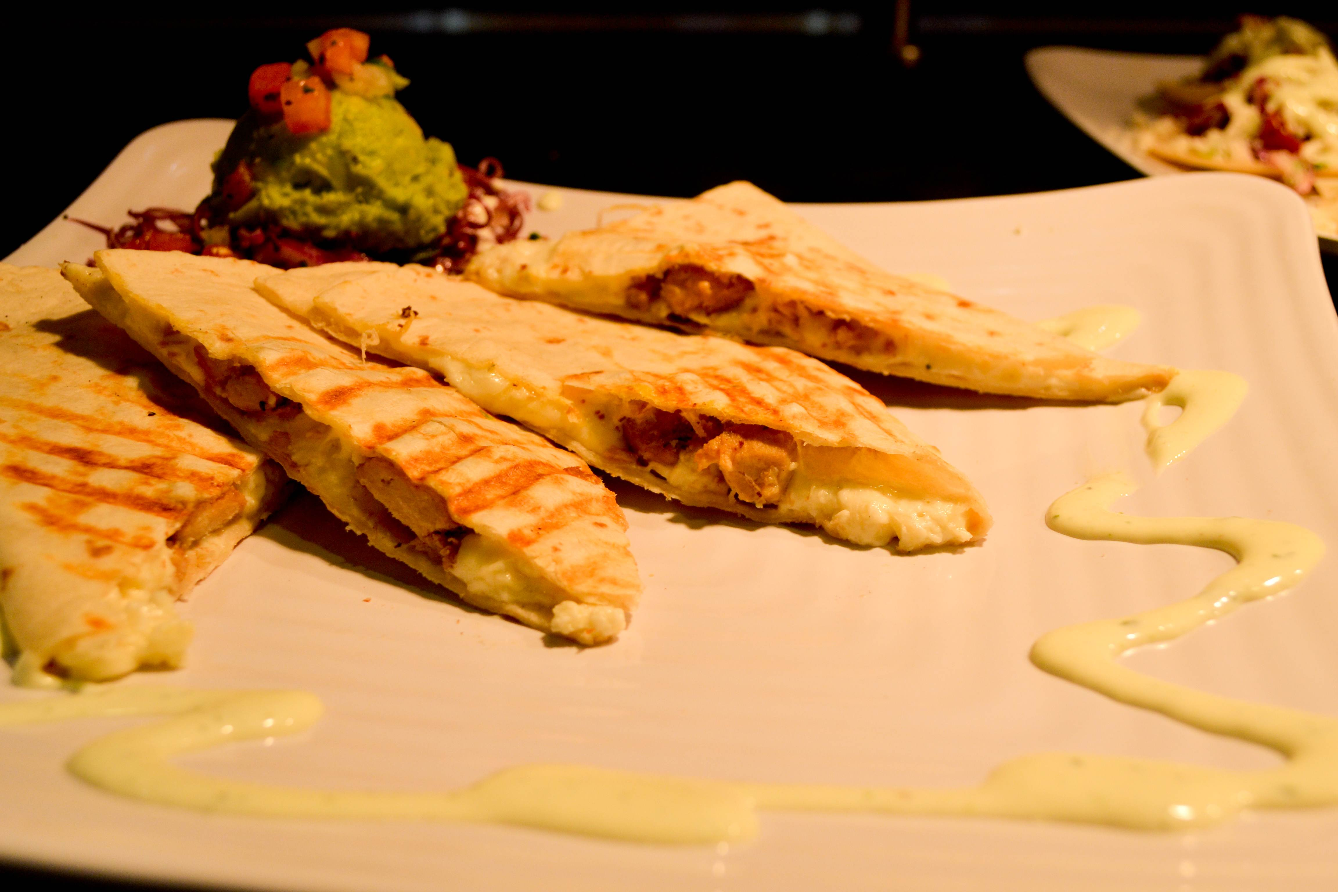 The quesadillas are always a classic choice