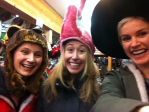 Fever Reliever Hat Shopping in Breck