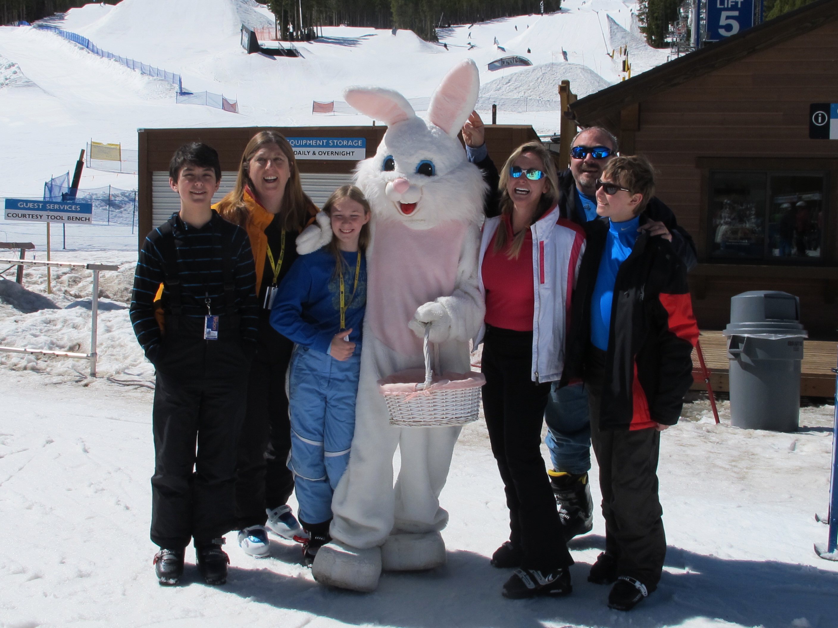 Easter at Breck