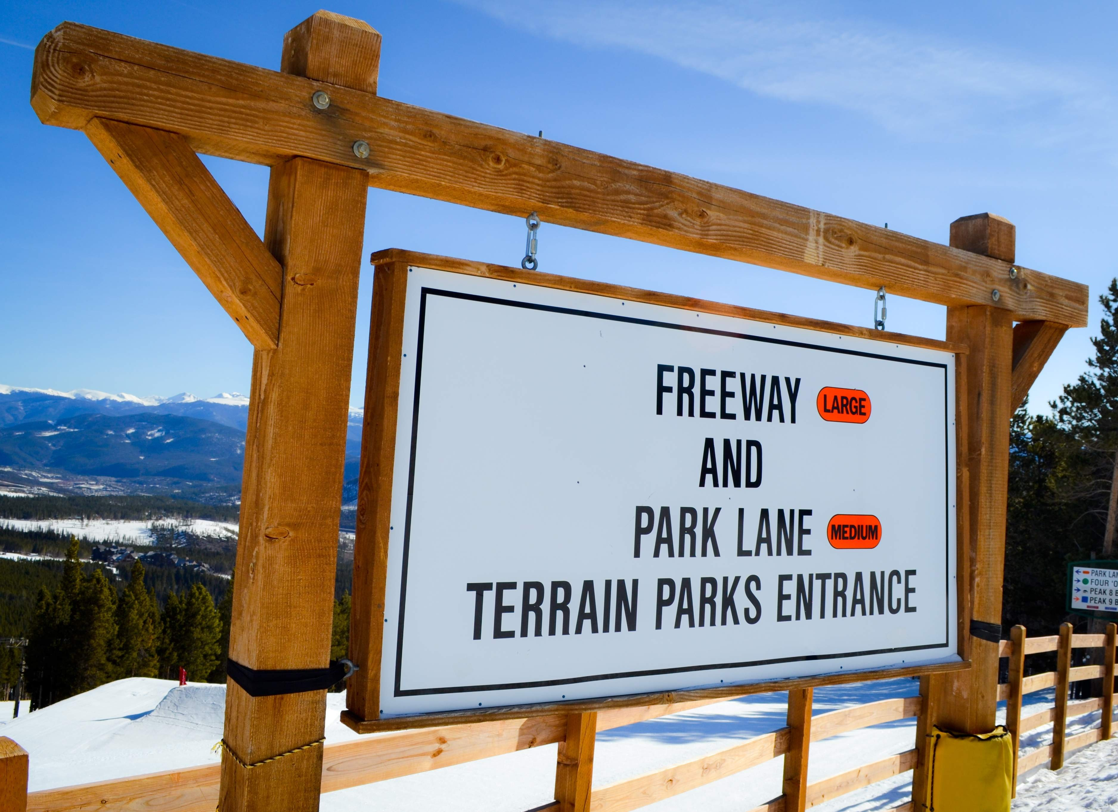 Terrain parks at Breck
