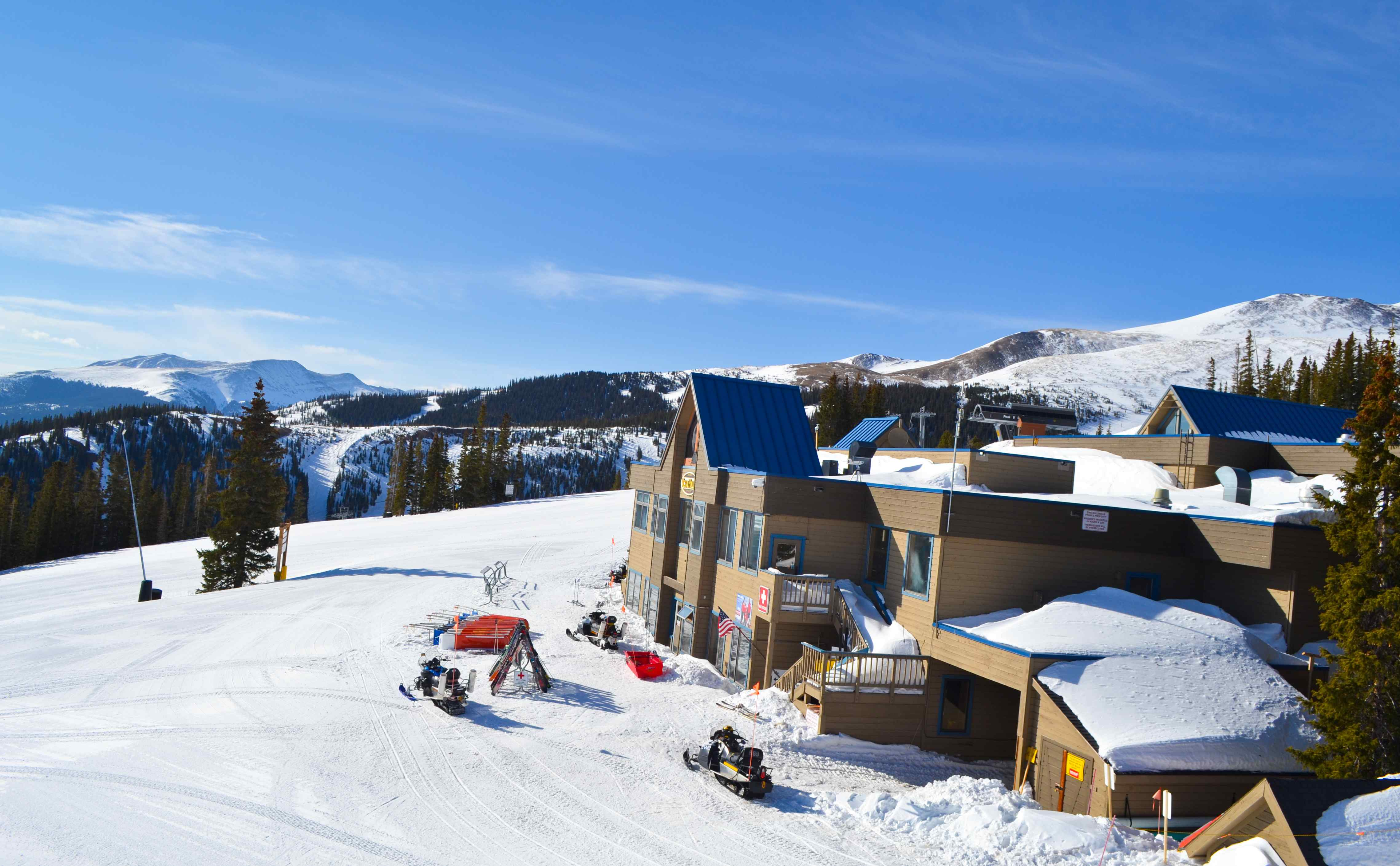 Vista Haus from the lift