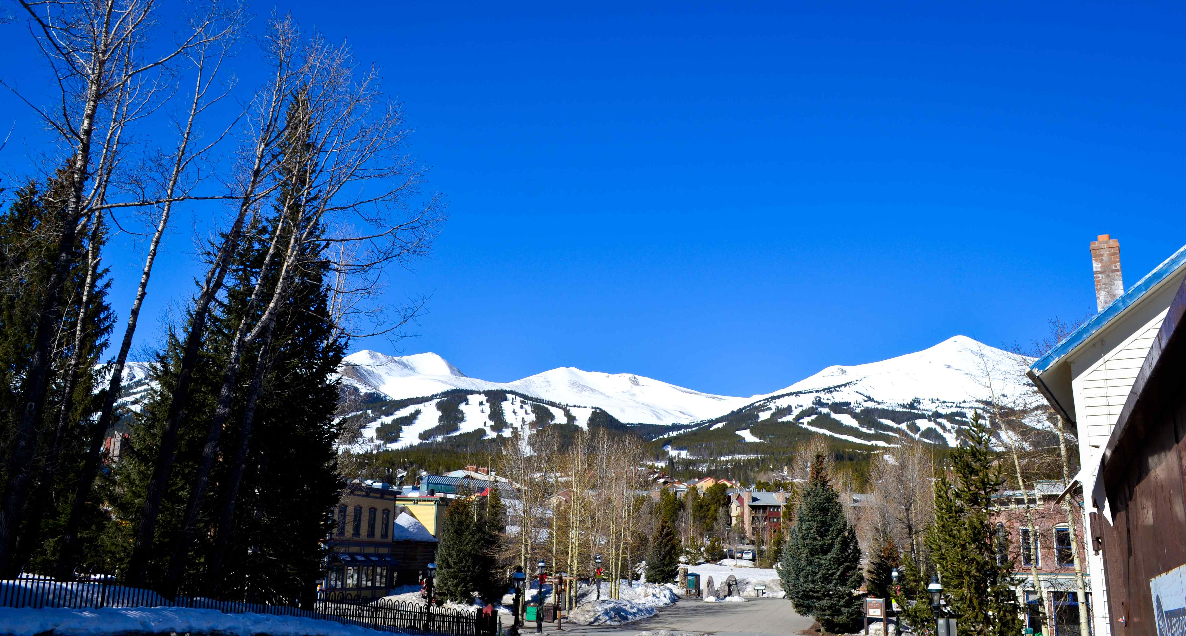 spring time in Breck