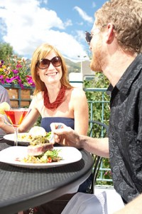 Dining in Breck - Summer Adventurer