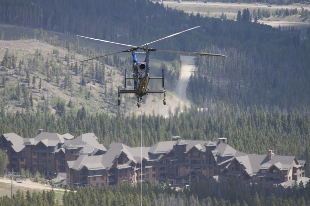 Colorado SuperChair Helicopter 1